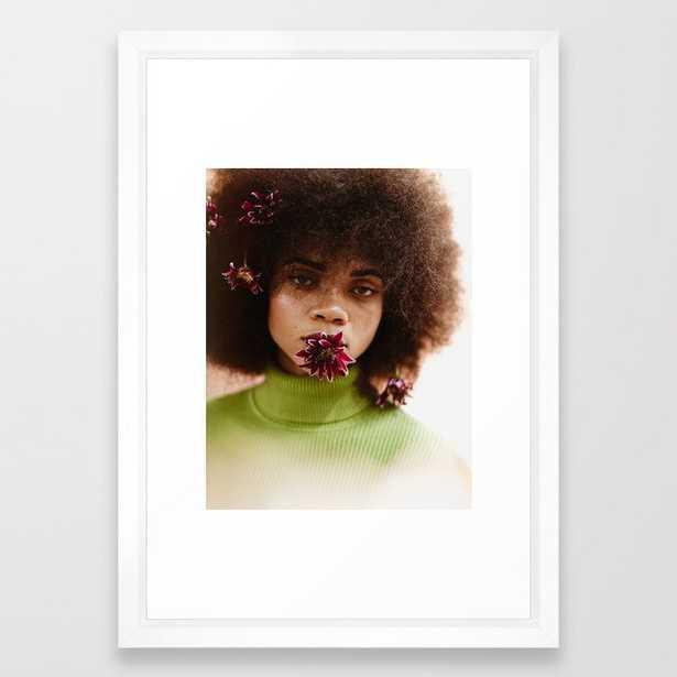 FIGURE // 22 Framed Art Print - Society6