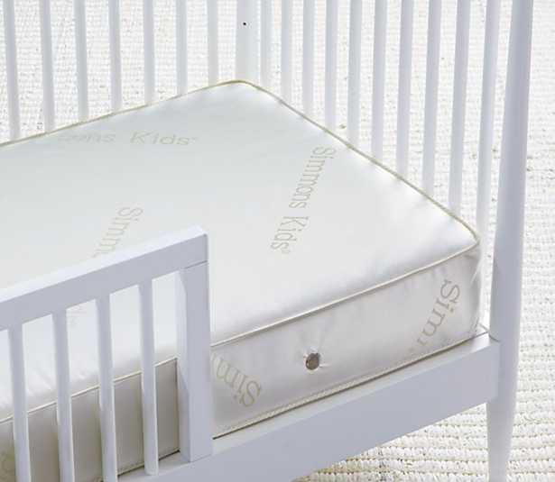 Simmons' BeautySleep ® Superior Rest ™ Crib & Toddler Mattress. - Crate and Barrel