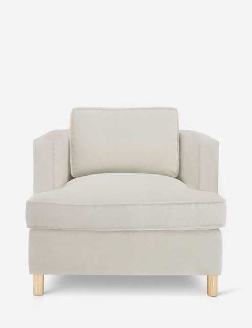Belmont Linen Chair, Natural By Ginny Macdonald - Lulu and Georgia