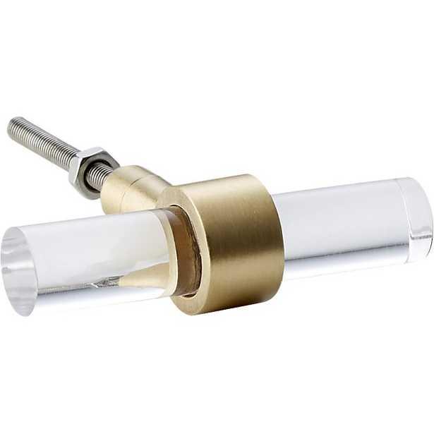 acrylic bar knob - CB2
