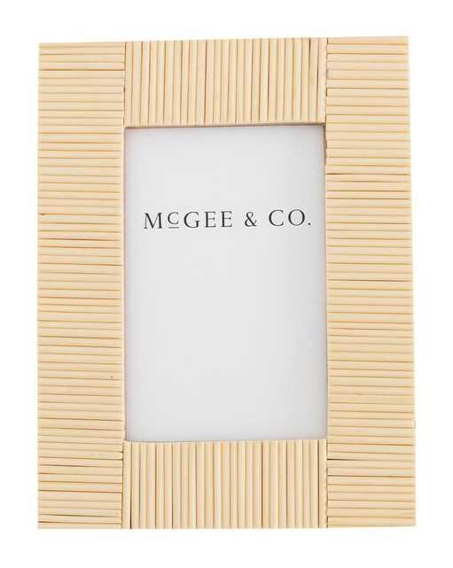 RAISED RESIN FRAME - McGee & Co.