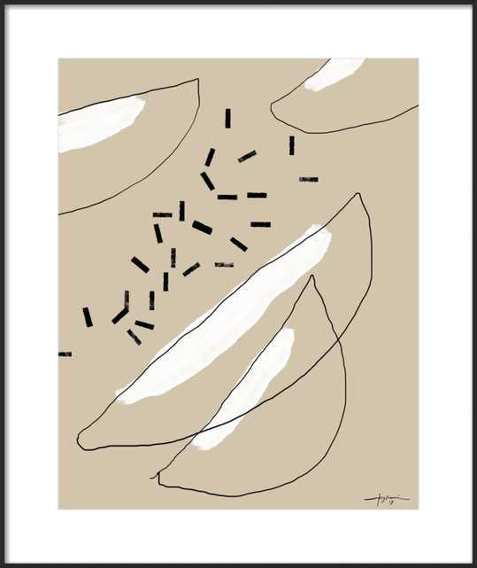 Melon 01  BY ELENI PSYLLAKI - Artfully Walls