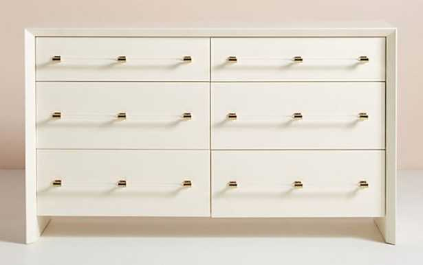 Merriton Six-Drawer Dresser - Anthropologie