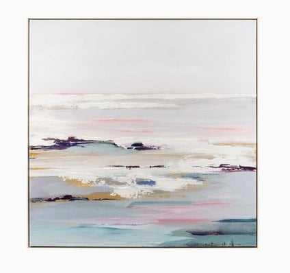 Lilac Tides Wall Art - Joybird