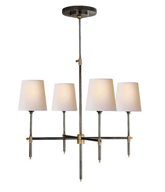 BRYANT SMALL CHANDELIER - BRONZE - McGee & Co.