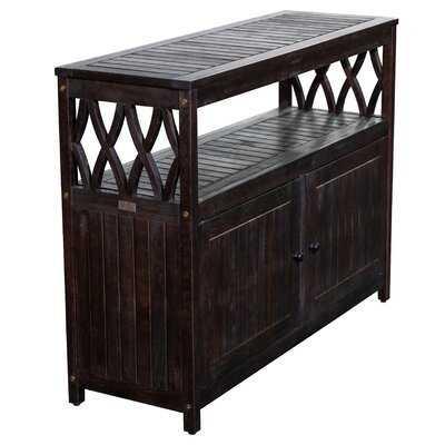 Buecker Wooden Buffet and Console Table - Wayfair