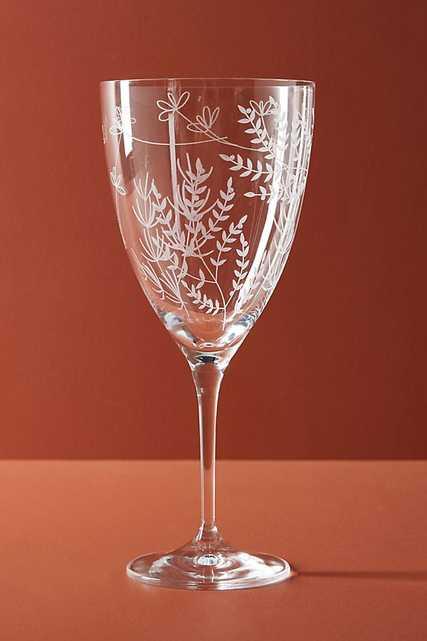 Eloise Wine Glass - Anthropologie