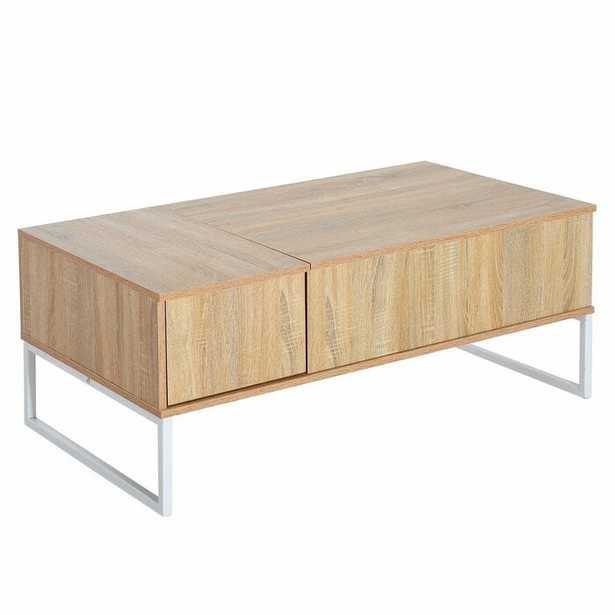 Cavanaugh Lift Top Coffee Table with Tray Top - Wayfair