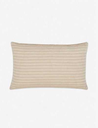 Emma Lumbar Pillow, Terracotta - Lulu and Georgia