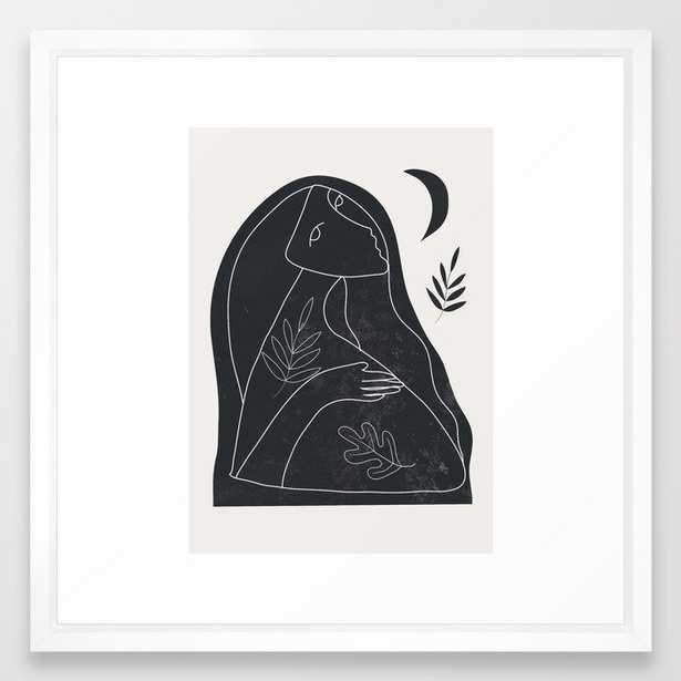 Luna Framed Art Print - Society6