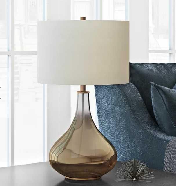 Halina Table Lamp Brass - Wayfair
