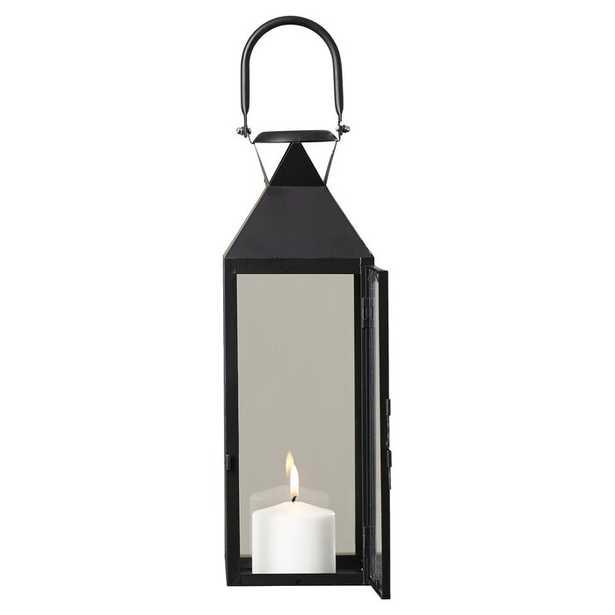 Tall Glass and Metal Lantern - Wayfair