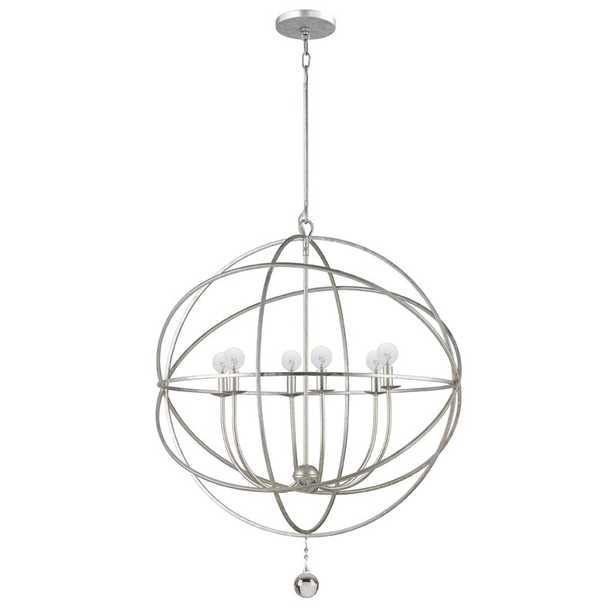 Gregoire 6-Light Globe Chandelier - Wayfair