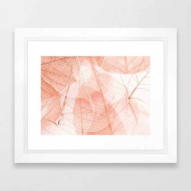 Sun Bleached Apricot Framed Art Print - Society6