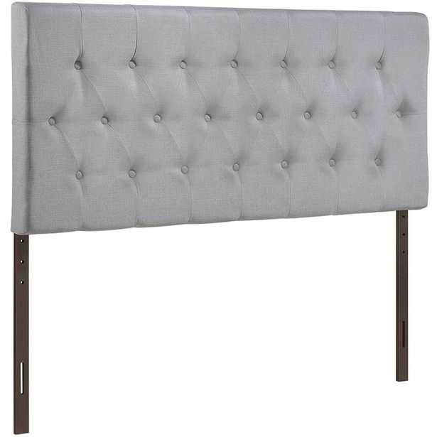 CLIQUE KING HEADBOARD IN SKY GRAY - Modway Furniture