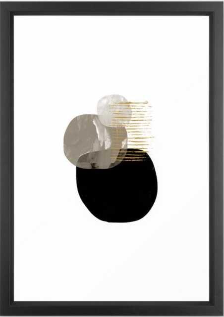 "Minimal Tone Framed Art Print, 15"" X 21"" - Society6"