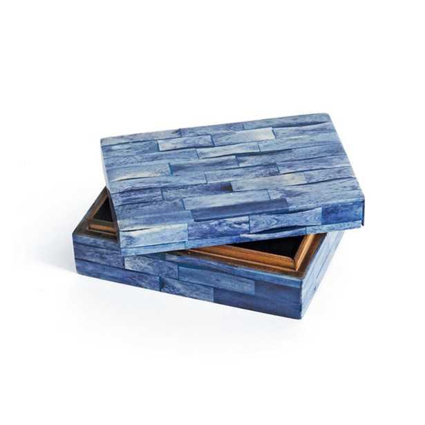 Glaspie Rectangular Decorative Box - Wayfair