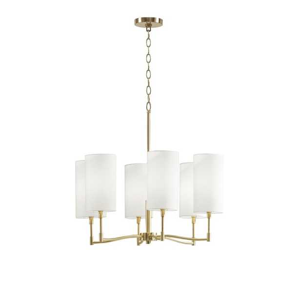 Inwood 6 - Light Unique / Statement Drum LED Pendant - Wayfair