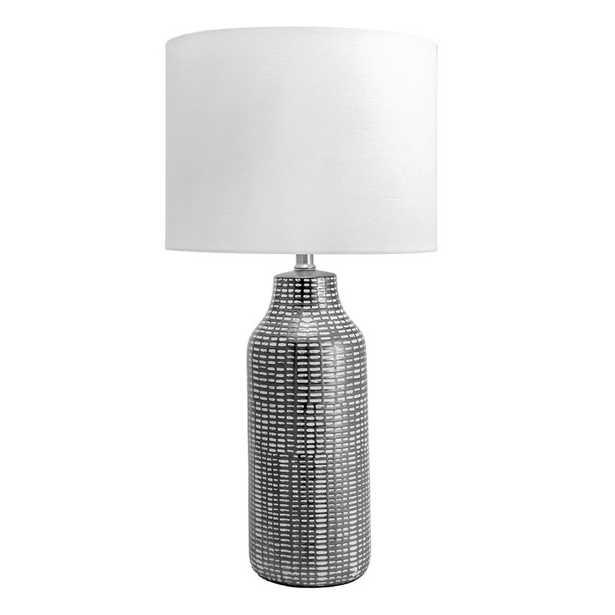 "Eyre Ceramic Linen Shade 26"" Table Lamp - Wayfair"