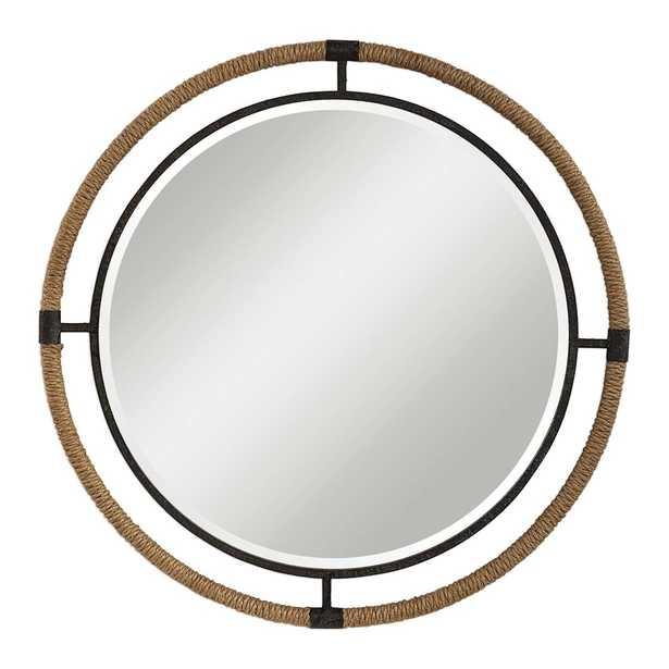 Melville Round Mirror - Hudsonhill Foundry