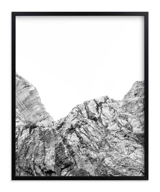 Painted Canyon 5 - Black Frame - Minted