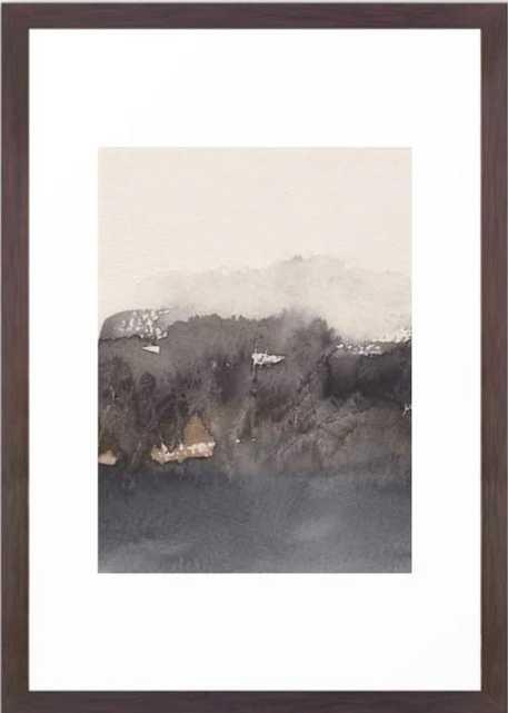 November morning 4 Framed Art Print, 15 X 21, Conservation Walnut - Society6