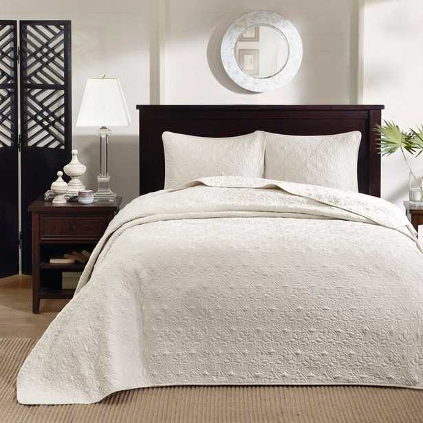 Lilia Reversible Bedspread Set - Wayfair