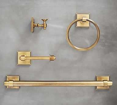 Pearson Fixtures, Set of 4, Brass - Pottery Barn