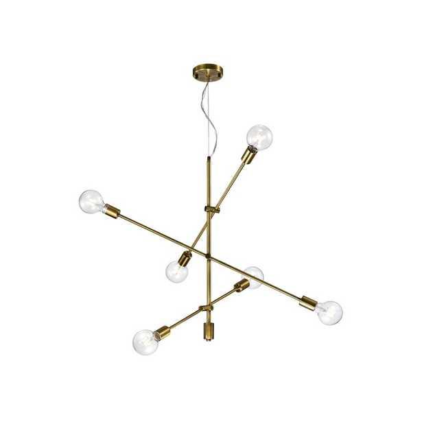Naughton 6-Light Sputnik Chandelier - Wayfair