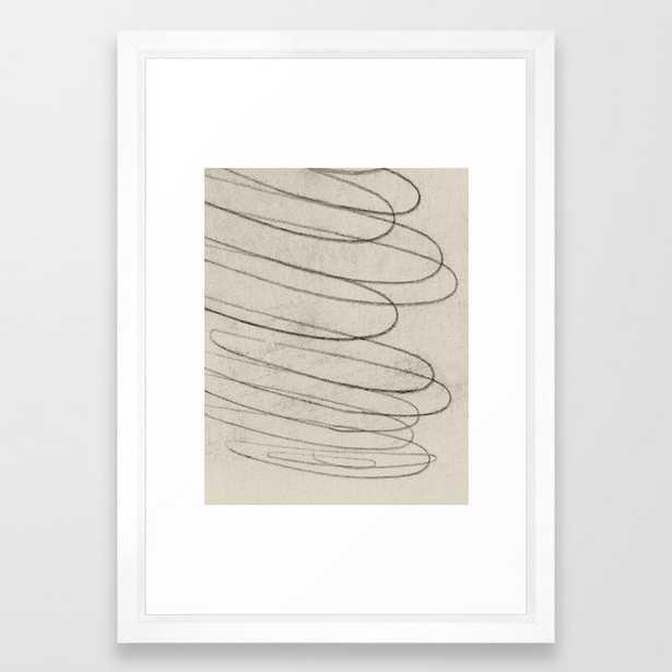 Primal Framed Art Print 15 x 21 - Society6