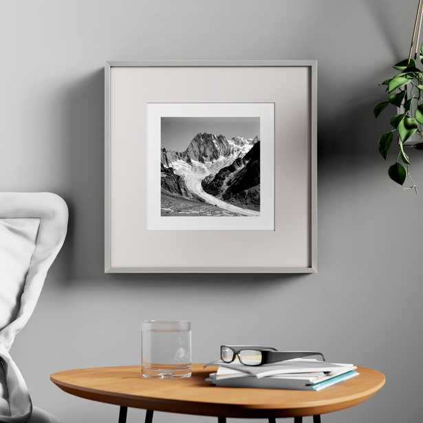 Lyerly Aluminum Square Picture Frame - Silver - Wayfair