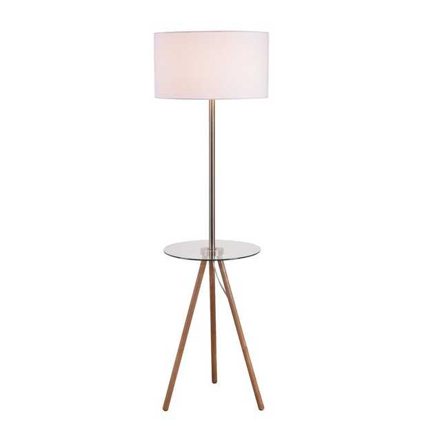 "Sue 60"" Tray Table Floor Lamp - AllModern"
