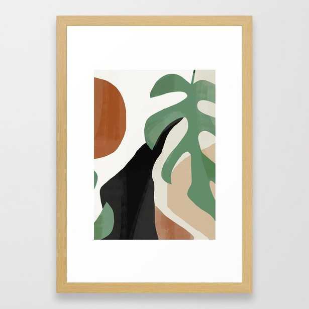 "Abstract Art 37 - conservation natural 15"" x 21"" - Society6"