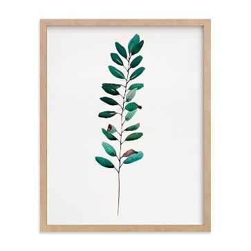 """Curry Tree, Full Bleed 11""""x14"""", Natural Wood Frame - West Elm"""