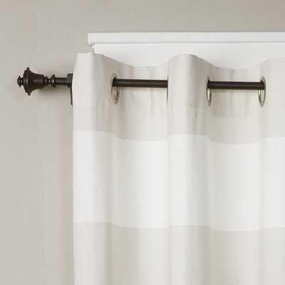 Buckwalter Single Curtain Rod and Hardware Set - Wayfair