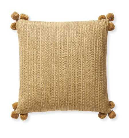Salerno Pillow Cover - Serena and Lily