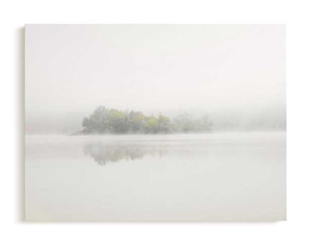 The Island Framed Canvas - Minted