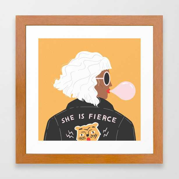 She Is Fierce - Conservation Pecan - Society6