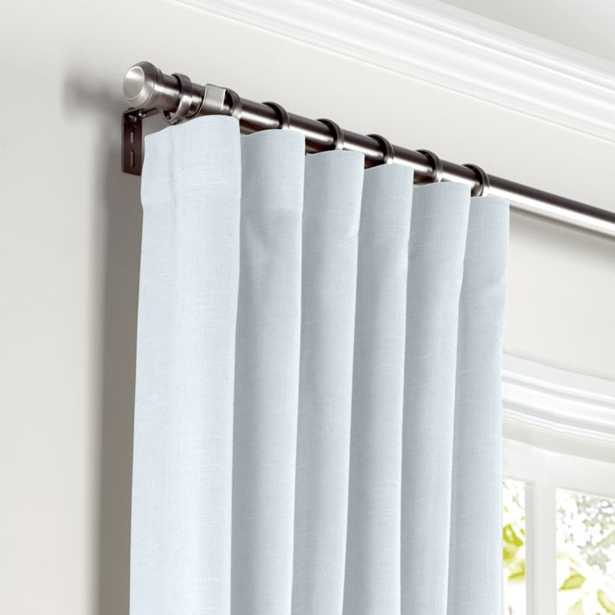 "Powder Blue Linen curtains - 24"" x 75"" long - Loom Decor"