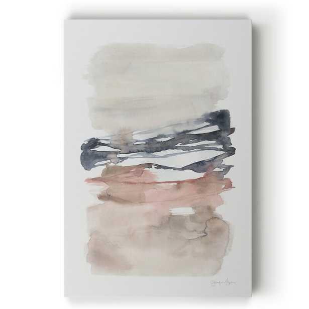 'Tiered Horizon Line I' - Painting Print on Canvas - Wayfair