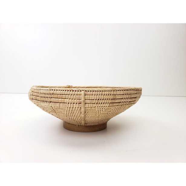 Durazo Wood Decorative Bowl in Brown - Wayfair