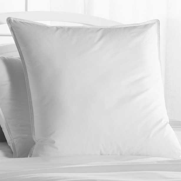 Hypoallergenic Down Alternative Soft Euro Pillow - Crate and Barrel