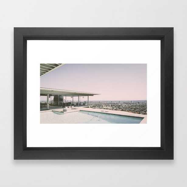 Hollywood Hills Framed Art Print - Society6