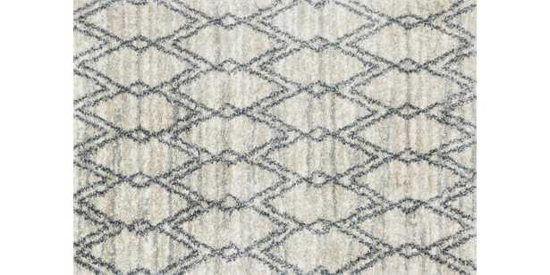 """QUINCY Rug SAND / GRAPHITE 8'-10"""" x 12' - Loma Threads"""