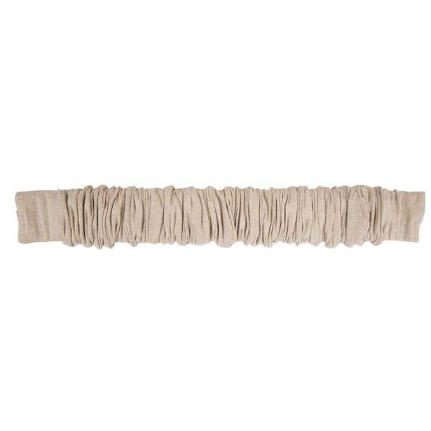 Fabric Chandelier Chain and Cord Cover - Beige - Wayfair