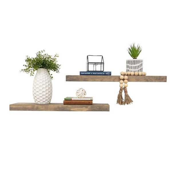 "Evonne Wall Shelf (Set of 2) - 20"" W - Birch Lane"
