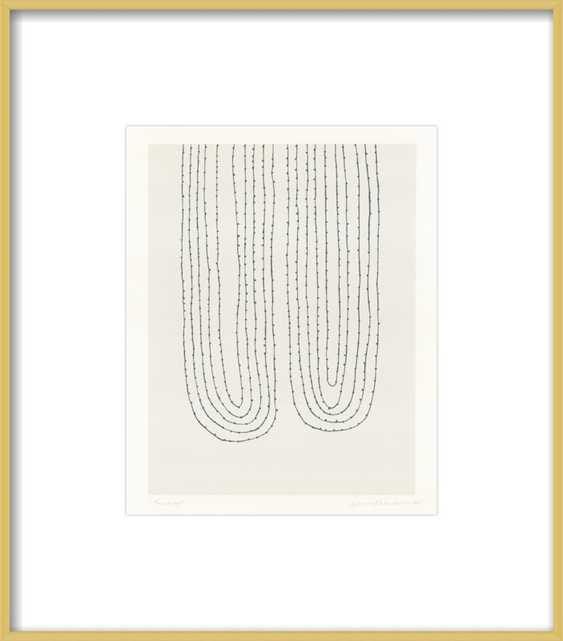 Two Loops  BY EMMA LAWRENSON - Artfully Walls