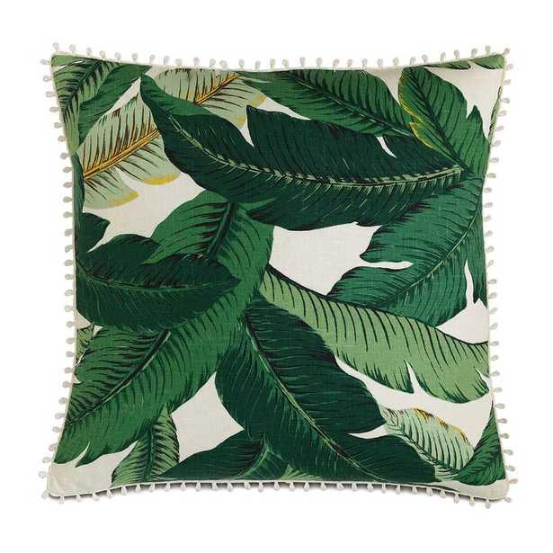 Eastern Accents Lanai Palm Loop Trim Throw Pillow - Perigold