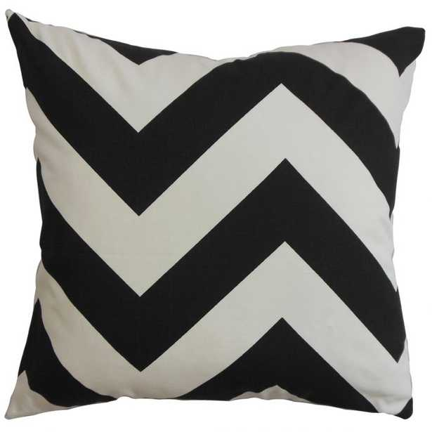 Eir Zigzag Throw Pillow - Linen & Seam