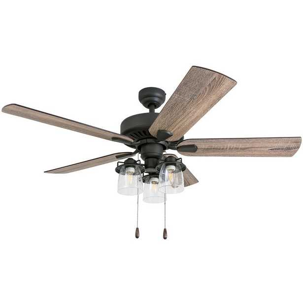 """52"""" Sudie 5 Blade LED Ceiling Fan - with remote - Wayfair"""